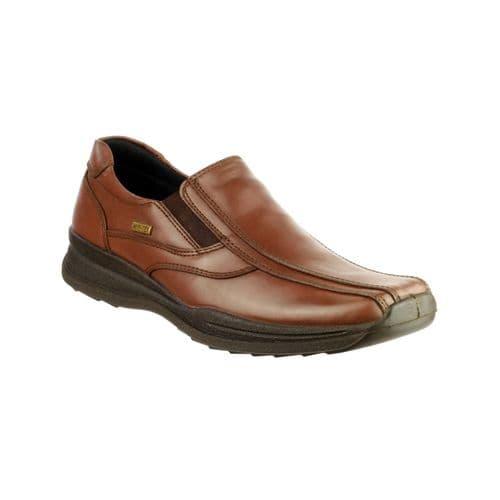 Cotswold Naunton Slip On Mens Shoes Brown